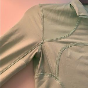 lululemon athletica Jackets & Coats - LULULEMON Mint Green Zip-up